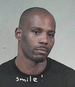 DMX takes his mug shot after latest arrest